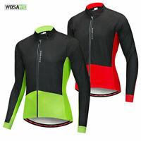 Winter Cycling Jacket Thermal Fleece Windproof Bike Jersey Outdoor Sports Coats