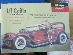 1/25 scale Lil Coffin by Monogram.  Complete in box.