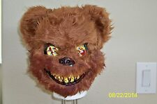 TED DEADY BEAR BLOODY TEETH CREEPY SCARY HORROR VACUFORM MASK COSTUME MR131156