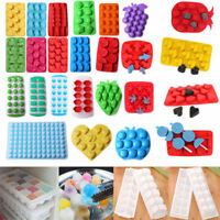 Silicone Ice Cube Tray Freeze Mold Bar Pudding Chocolate Candy Mould Maker Tools
