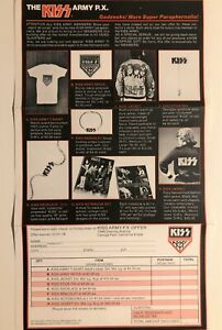 KISS ARMY FLYER (1978)