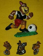 BERNI BULLY FIGURE EUROPA 1988 MASCOT CAMPIONATI EURO'88 '92 PIN SOCCER UEFA CUP