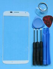 White Genuine Motorola Moto X 1st Front Outer Screen Glass Lens/Digitizer Cover