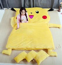 SINGLE Stich Cartoon Bed Super lazy Pikachu sleeping bag Sofa Lounge