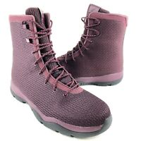 New Nike Air Jordan Future Boot Maroon Burgundy Red Boots 854554-600 Mens 13