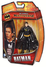 "DC Comics Multiverse Collection_1989 BATMAN Unmasked Variant 4"" figure_MIP & New"