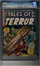 Tales of Terror Annual 3 CGC 5.0 - Classic EC bondage/torture cover- Crypt Vault