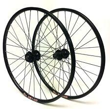 "Sun DS1-XC 26"" Wheel set Formula 6-Bolt Disc QR Hubs Black Spokes 8,9,10 spd"