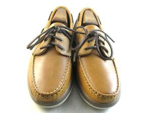 "Allen Edmonds ""EASTPORT"" Boat Shoes 10 D  Tan     (32)"