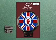 Classic Car Badge & Bar Clip NORTHERN SOUL UNION JACK - Ulma Vigano B1.2445
