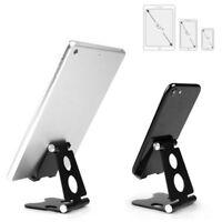 Universal Foldable Aluminum Tablet Desk Stand Mount Holder fr Mobile Phone