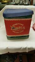 scatola cartone Panettone Motta Milano Box Italian Cake h.cm. 26x23x23 SG ^
