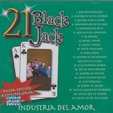 CD - Industria Del Amor NEW 21 Black Jack FAST SHIPPING !