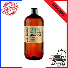Naissance Huile d'Amande Douce BIO - 1 litre - 100% pure et pressée à froid