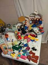 Massive Madeline Eden Lot 14 Dolls, 100s of outfits/accessories, Carrying Cases