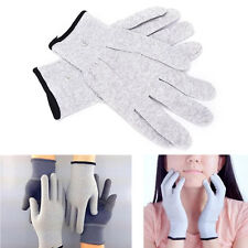 2pcs Conductive Electrotherapy Massage Electrode Gloves Use For Tens Machine NJ