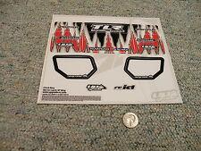 Decals / Stickers R/C radio Controlled Chuck Berg Skin Losi 8/8T Wing  B12