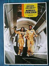 poster moonraker James Bond 007.Roger Moore. 1979 - 84x60 cms  F100