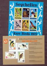 SEYCHELLES Birds Wildlife Mini Sheets MNH x 5 (NT 5554