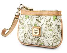 Rare Disney Dooney & Bourke Tinker Bell Wristlet Bag Half Marathon Purse - NWT