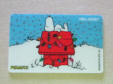 PEANUTS SNOOPY Walmart Collectible Gift Card FREE SHIPPING