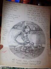 Illustrator Art Danbury Mint Plate Friday's Child Elaine Gignilliat Kittens