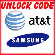 FACTORY UNLOCK CODE SERVICE IMEI AT&T ATT SAMSUNG GALAXY S7 S6 S5 S4 S3 NOTEs