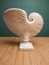 "Margaret Furlong Large Paper Nautilus Vase Signed Excellent 8"" Tall"