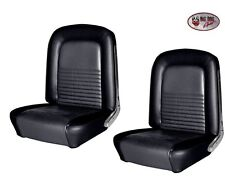 1967 Mustang Front & Rear Seat Upholstery- Black Made by TMI - IN STOCK!!
