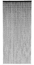 Dark Brown Wooden Beaded Bamboo Privacy Bug and Fly Curtain Blind Divider Screen