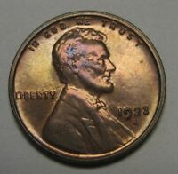 Amazing Superb Gem RED/BROWN 1923-S Lincoln Cent A Well Struck Example