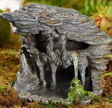 Miniature  Lagoon Pond Swamp w  Monster Skull   GO 17616  Fairy Garden Dollhouse