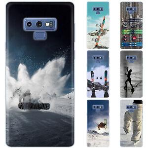 Dessana Winter Sport Silicone Protective Cover Phone Case for Samsung Galaxy