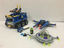 LEGO 7066 Space Earth Defense HQ NOT Complete