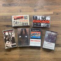 Lot of 6 80's 90's Cassette Pop Rock GNR,Chicago,Super Girls,Michael Jackson