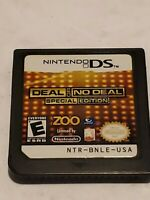 Deal or No Deal SPECIAL EDITION  (Nintendo DS, 2010) GAME ONLY, NO CASE OR MANUA