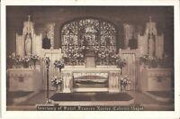 NEW YORK CITY - Sanctuary of Saint Frances Xavier Cabrini Chapel - 1946