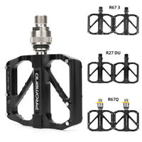 1 Pair Road Mountain Bike Pedals Double-sided Anti-skid Platform Bicycle Pedal