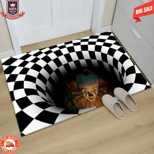 Halloween Clown Door Rug Scary Carpet Horror Welcome Door Mat Welcome Home 2021