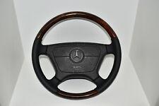 Mercedes-Benz Holzlenkrad Lenkrad Holz Wurzelnuss W124 R129 W140 C124 W463 W210