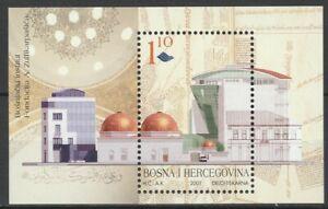 Bosnia Herzegovina 2001 Architecture MNH Block