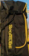 """SporTube Padded Ski Storage Travel Bag  Black/Yellow Full Zip 76"""" Long - New"""