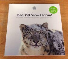 New sealed MAC OSX Snow Leopard 10.6.3 Retail Install DVD MC573Z/A