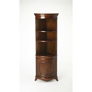 Butler Dowling Plantation Cherry Corner Cabinet, Dark Brown - 3621024