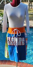 University of Florida Gators Yoga Waist Bohemian Skirt Upcycled T-Shirts M