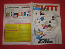 SETTIMANALE VITT N°7-FEBBRAIO 1969  ALLEGATO POSTER FANTAEROI NEL LABIRINTO JAC