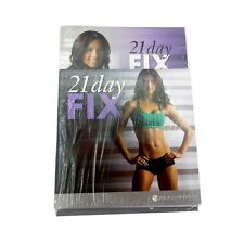 BEACHBODY 21 Day FIX - 2 DVD Set Plus Eating Plan Book - New & Sealed