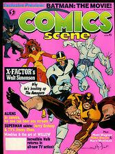 COMICS SCENE 3(6.0)(FN)WALTER SIMONSON COVER-X-FACTOR-MARVEL