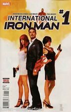 International Iron Man #1 Comic Book 2016 - Marvel