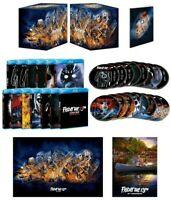 FRIDAY THE 13TH COLLECTION DELUXE EDITION BLU-RAY EXCLUSIVE SET LITHO + POSTER